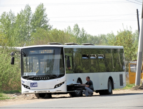 Волгоградский завод дал омичам погонять автобус на полгода