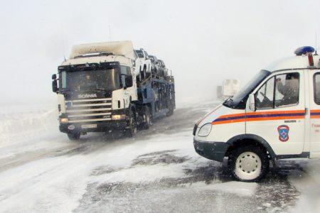 В сторону Казахстана закрыли еще один участок дороги