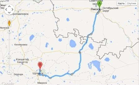 Казахстан планирует восстановить прямую дорогу из Борового в Омск