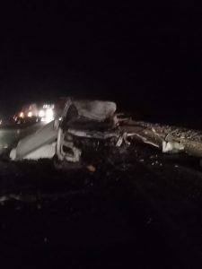 На трассе в Омской области погиб водитель ГАЗели