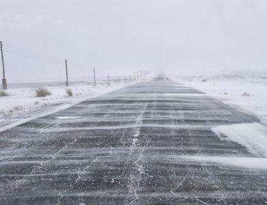 Дорога на Казахстан закрыта в Омской области