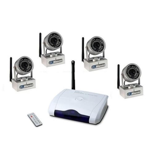 беспроводные миникамеры в комплекте с блоком управления