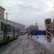 В Омске автобусы вместо проспекта Маркса пойдут по улице Жукова