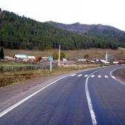 К двум омским селам построили дороги