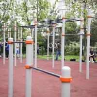 В Советском парке появится зона тренажёров и игровая площадка
