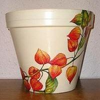 Декоративные вазы с росписью как часть интерьера