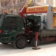 Мэрия Омска купит технику для сноса киосков без предупреждения