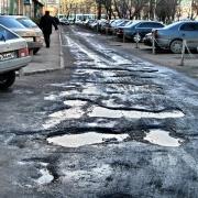 Омские дороги признали одними из худших в России