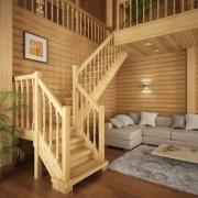 Деревянные лестницы – современная тенденция дизайнерского искусства