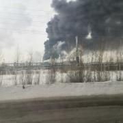 Омские экологи утверждают, что воздух чист после взрыва на каучуковом заводе