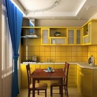 Как организовать обеденную зону в маленькой кухне?