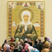 Мощи Матроны Московской привезли в Омск