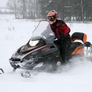 Экстремальный зимний транспорт