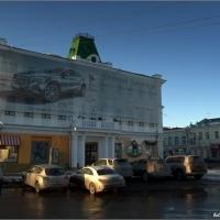 Омские депутаты хотят запретить рекламу на зданиях и деревьях
