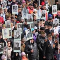 9 мая омичи пройдут по улицам с портретами ветеранов