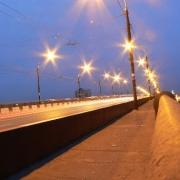 На Ленинградском мосту произошла серьезная авария