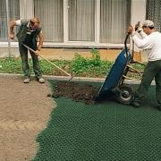 Использование геоматериалов при обустройстве загородного участка
