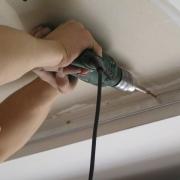 Подготовка к монтажу натяжного потолка