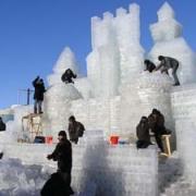 В Омске открывается большой ледовый городок