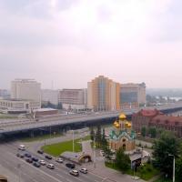 Омским автомобилистам рекомендуют не пользоваться метромостом