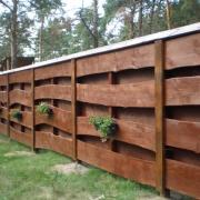 Деревянный забор для вашего уютного дома