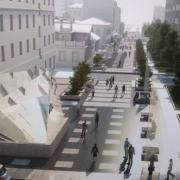 Деревья в Омске срубают ради двух новых фонтанов