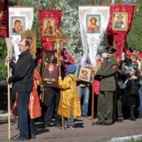 В Омске прошёл крестный ход против алкоголя и курения