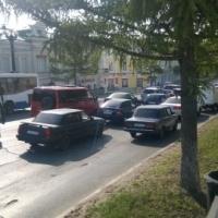 Улицу Ленина откроют для проезда на три дня позже запланированного