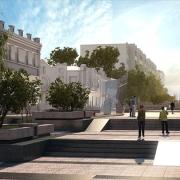 Губернатор Назаров недоволен обустройством улицы Валиханова в Омске