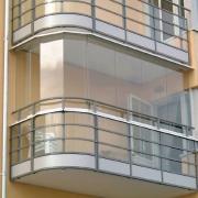 Остекление балконов без рам