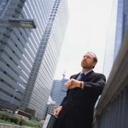 Бизнесмен, который прятался на крыше