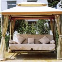 Как выбрать хорошие садовые качели?