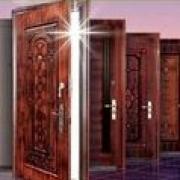 Железные и металлические двустворчатые двери
