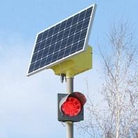 В Омске установят шесть светофоров на солнечных батареях