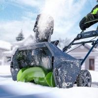 Электрические снегоуборочные машины