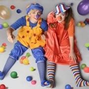 Веселый клоун на день рождения ребенка