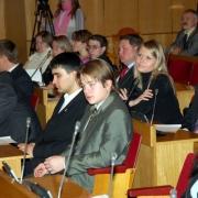 Омичи обсуждают положение о Молодежном парламенте