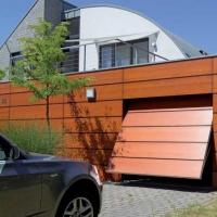 Подъемно-секционные ворота для гаража