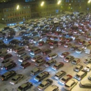 """В новогодние каникулы """"Яндекс.Пробки"""" показывали в Омске от 0 до 4 баллов"""
