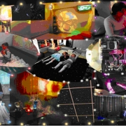 Сенсорная комната музыкально визуальной эмоциональной разгрузки.