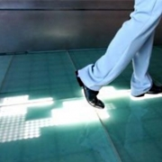 Интерактивный пол - графическая проекция реагирующая на твои движения