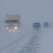 На севере Казахстана закрыто движение автотранспорта