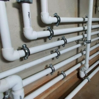 Водопровод из ПВХ