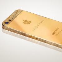 Золотой айфон бренда «Caimania»: эксклюзивность и стиль