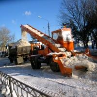 Снегопад мобилизовал дорожные службы Омска