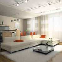 Как самостоятельно оформить помещение в современном стиле?
