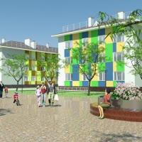В Омске построят детский сад и школу для семей из аварийных домов