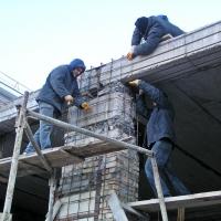 Как производится усиление конструкции здания?