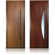 Как ухаживать за шпонированными дверями?