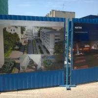 Омичам открыли нарисованную улицу Чокана Валиханова